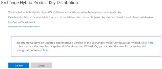 ExchangeHybridKey